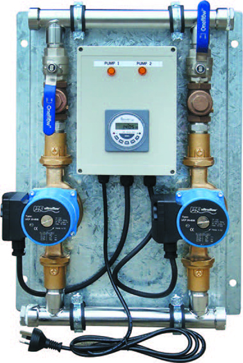 Ultraflow dual circulator pump system